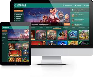 tablette ordinateur site cresus casino